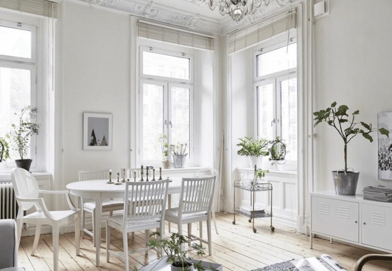 Arredare la casa in total white mamma al top by dragana for Foto case interni