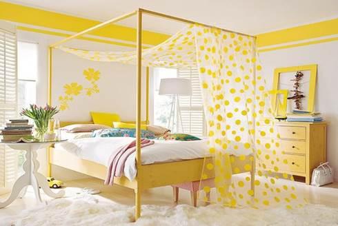 Camera Da Letto Giallo : Arredare in giallo la tua casa mamma al top