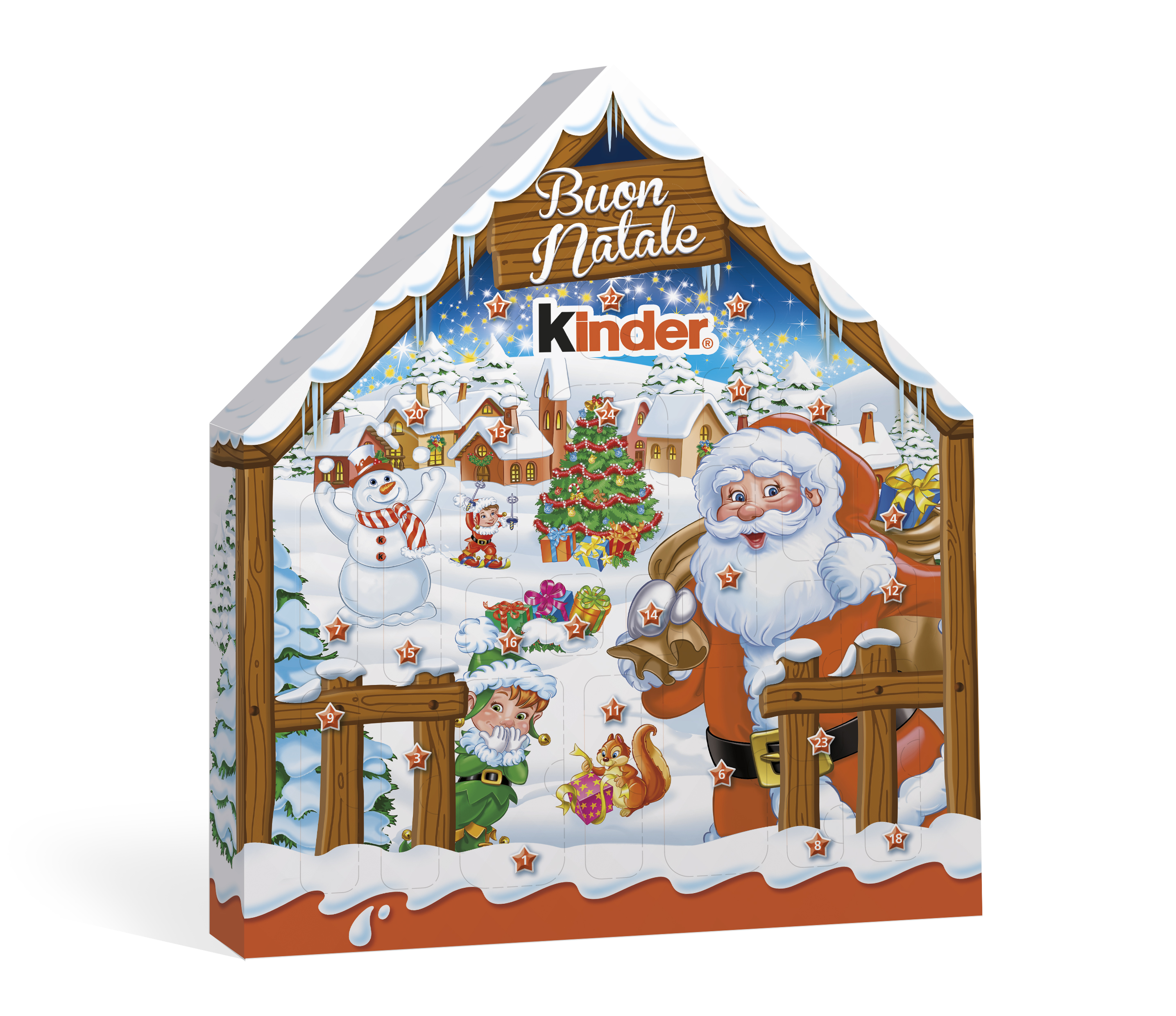 Calendario Avvento Kinder Prezzo.Con Kinder Il Natale E Piu Bello Mamma Al Top